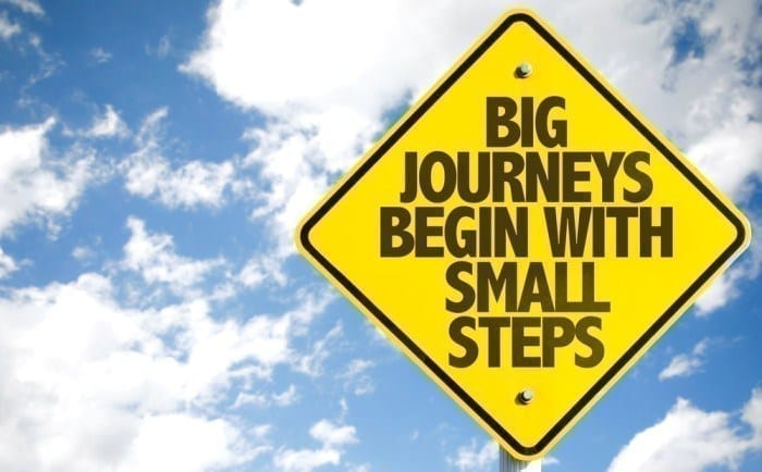 Big Journeys Small Steps